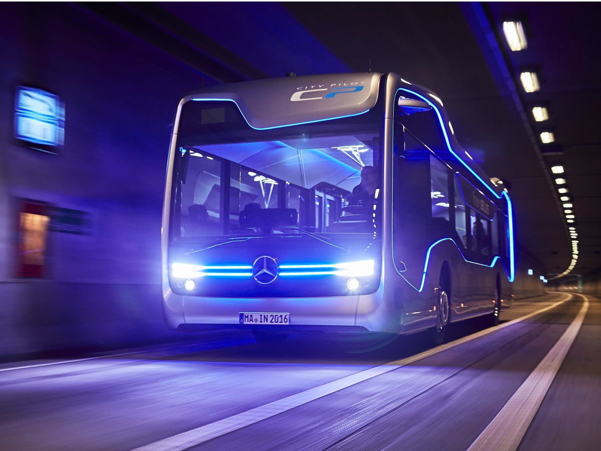 Future Bus by Mercedes Benz