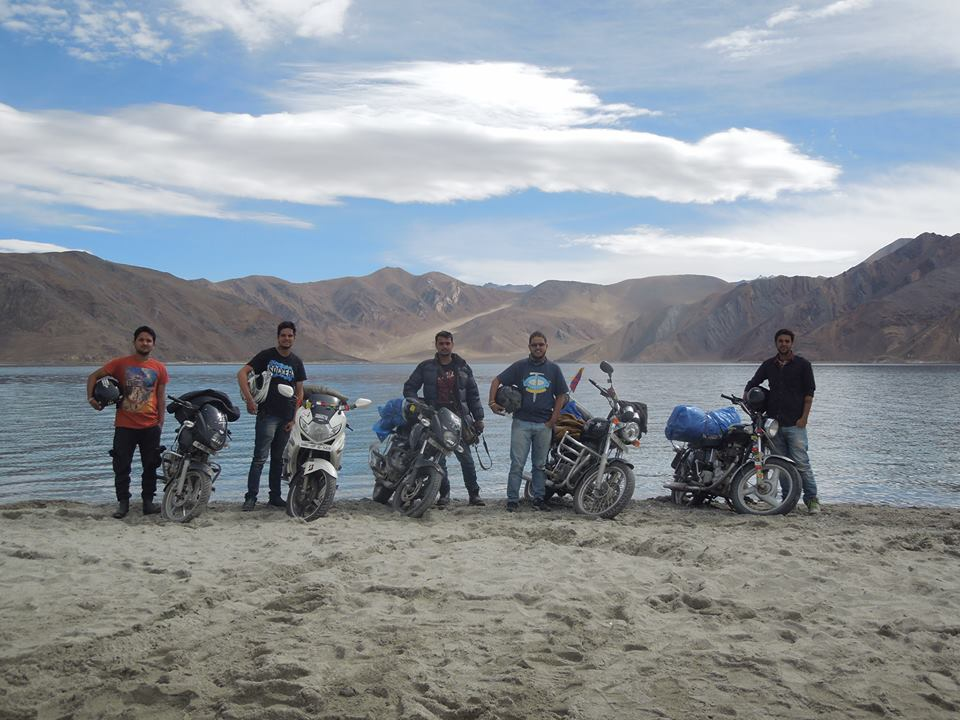 Leh Jouney on Bike