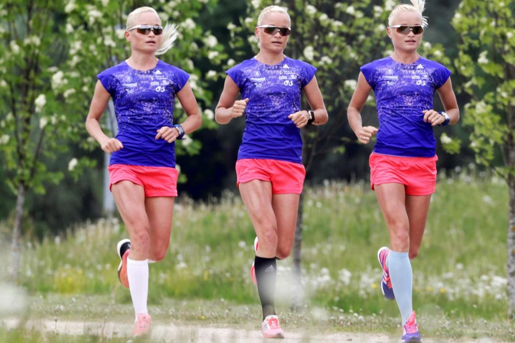 Triplet Sisters of Estonia
