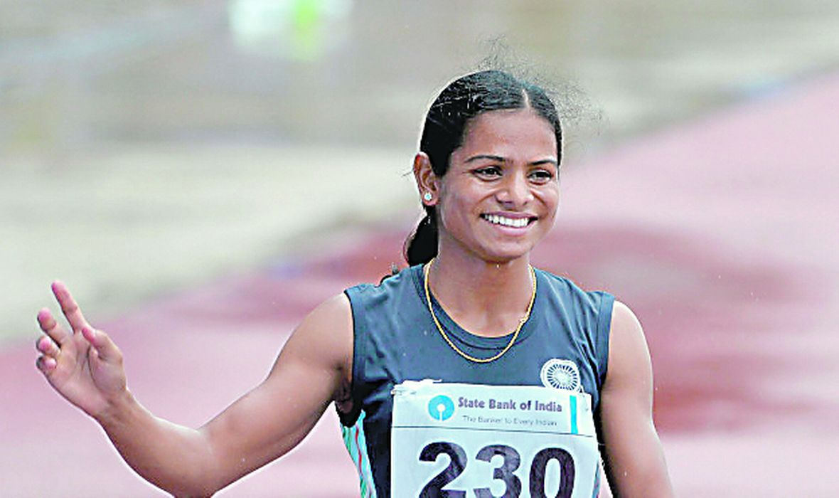 Dutee Chand, Olympic games Rio 2016