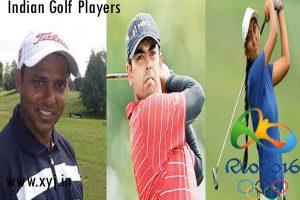 Anirban Lahiri, Shiv Chawrasia and Aditi Ashok