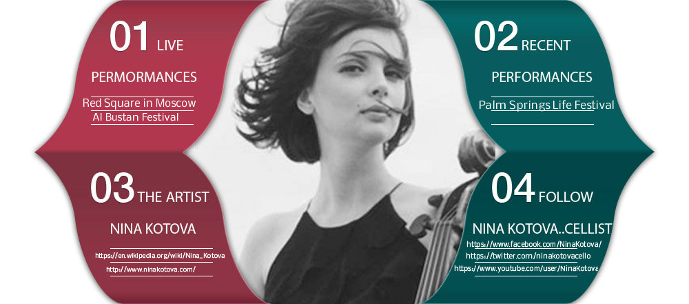 Nina Kotova – World renowned Classic Cellist