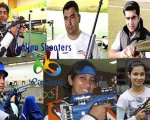 Indian Shooters Olympic 2016