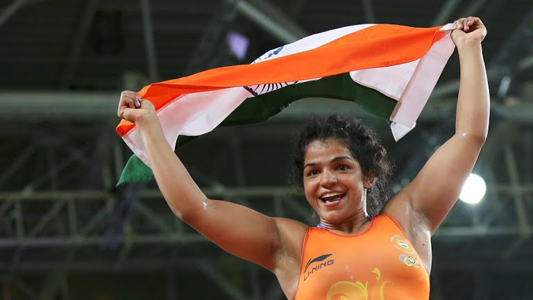 Sakshi Malik Wrestler, Bronze Medal Winner in Rio 2016