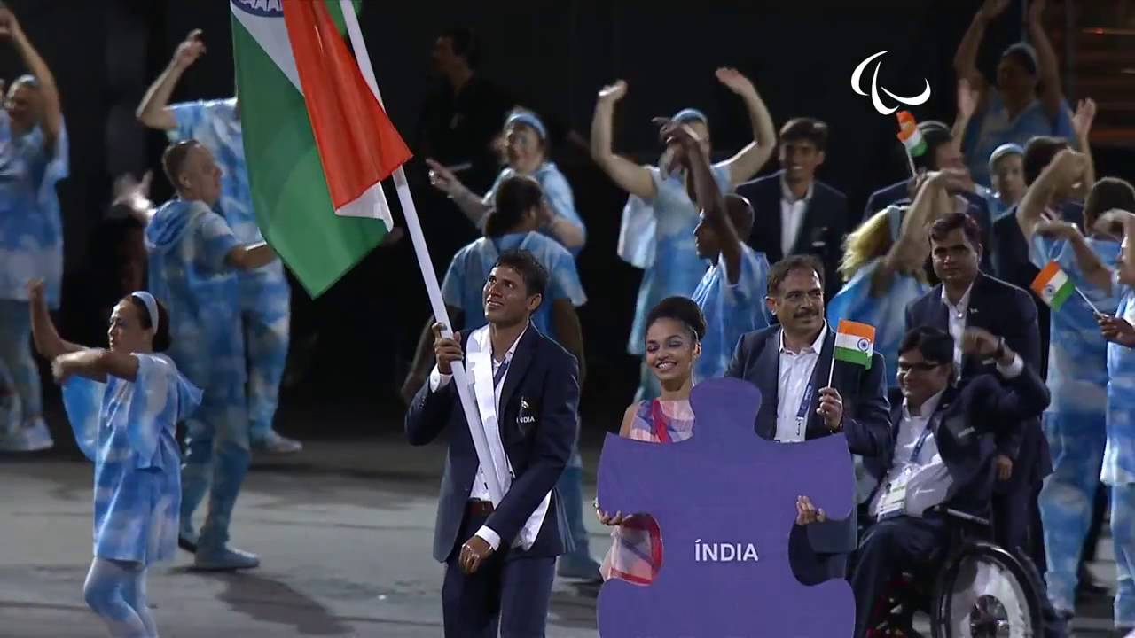 Paralympics Indian Team