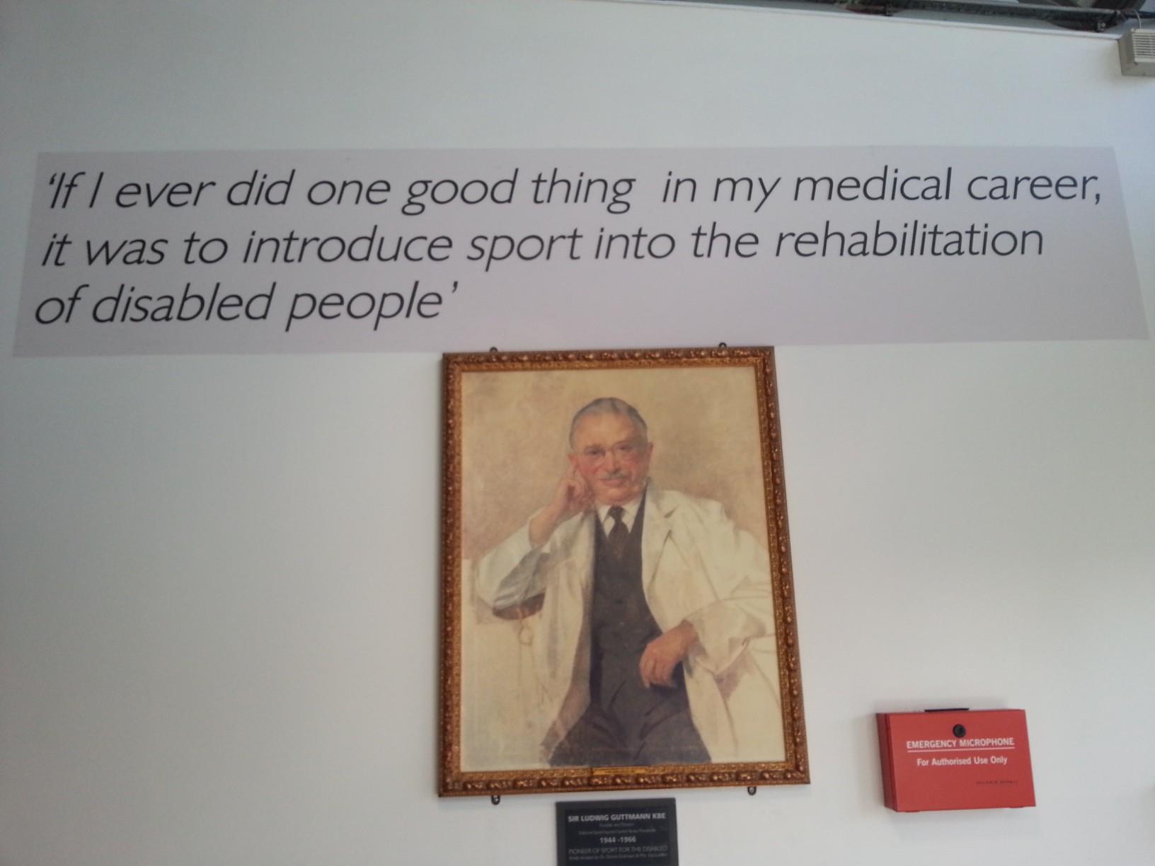 Ludwig-Guttmann founder of Paralympics