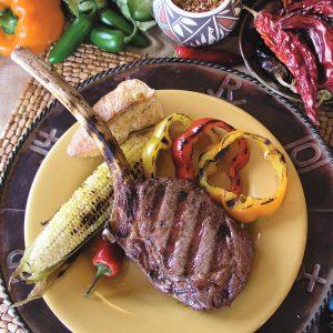 Bison Steak Restaurant Hunting in Montana