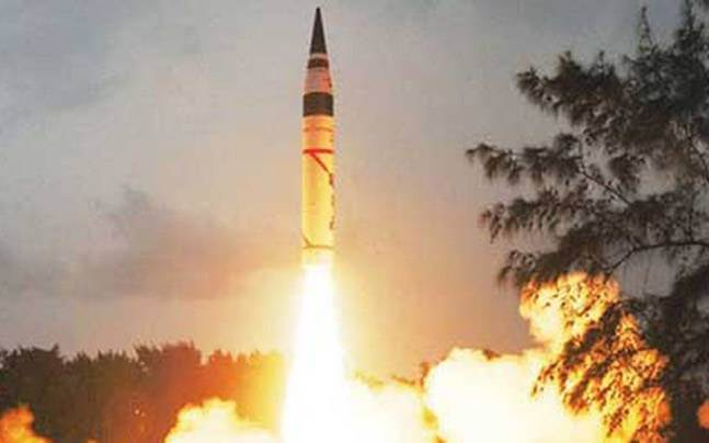 agni-5 Nuclear Missile
