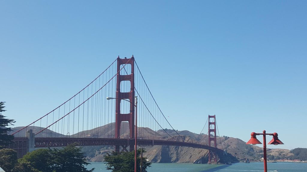 The Golden Gate Bridge - Binoy Nazareth