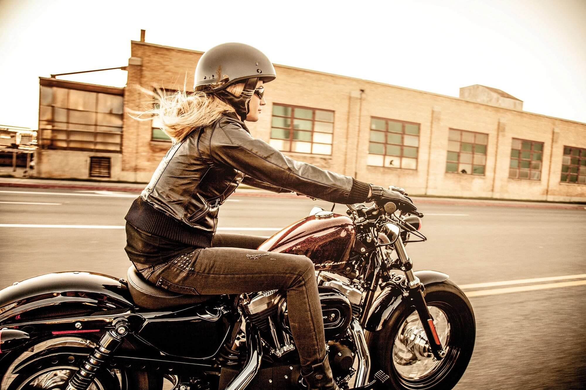 History of Women and Motorcycles