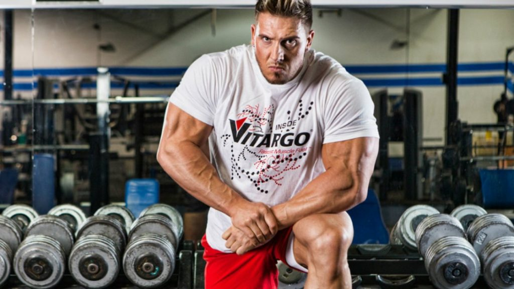 Training Wrestler Adam Elayan