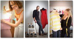 Fashion designer Norma Schrieffer
