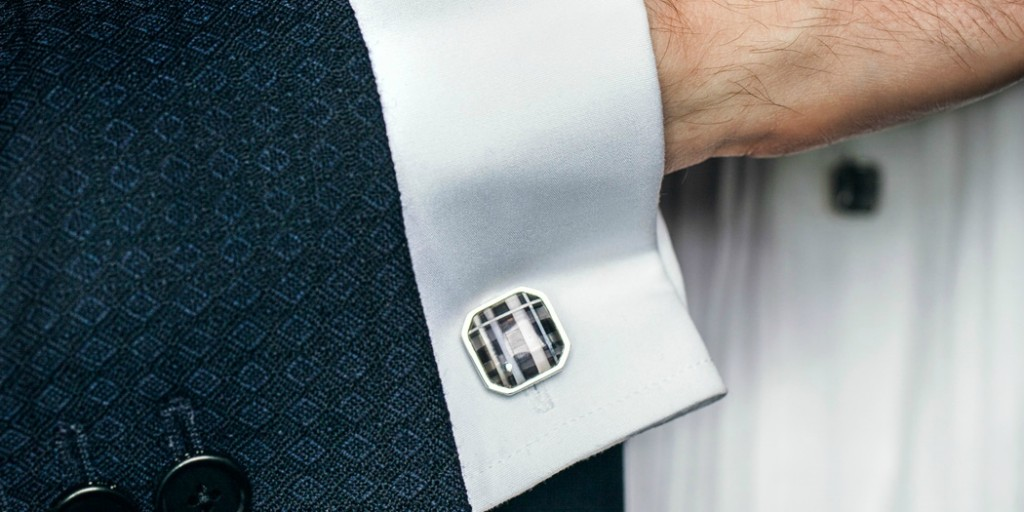 How To Wear Cufflinks For Work