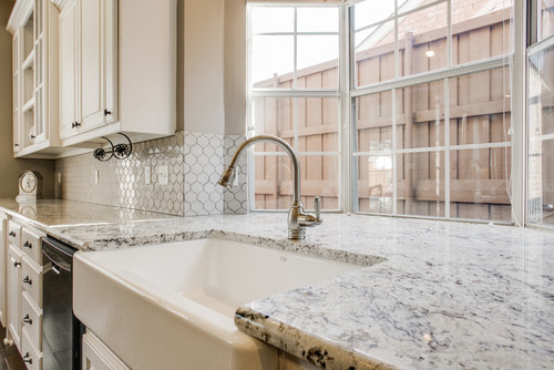 White Ice Granite Worktops For Your Home