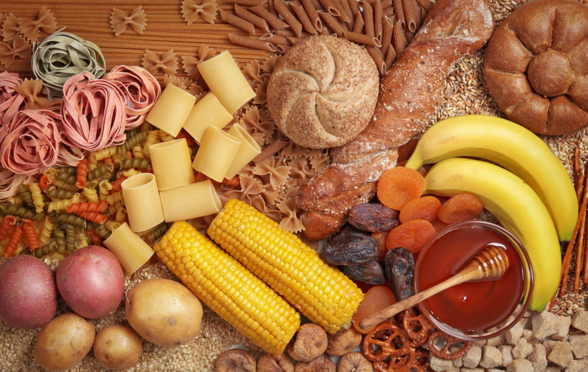 Eat high-carbohydrate food