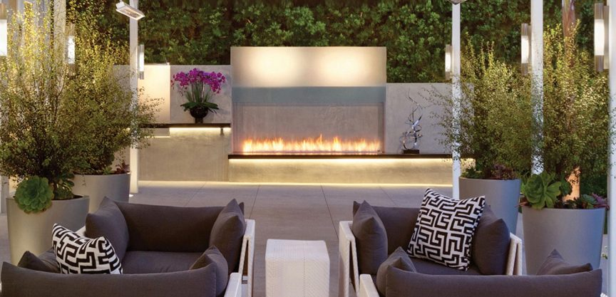 Natural Gas or Propane for Your Outdoor Modern Gas Fires?