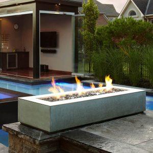 modern outdoor gas fires
