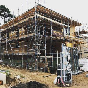Construction Scaffolding Rental