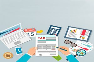 Tax payment. Government taxes. State taxes. Data analysis, paper