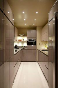 Make small designer kitchens look bigger