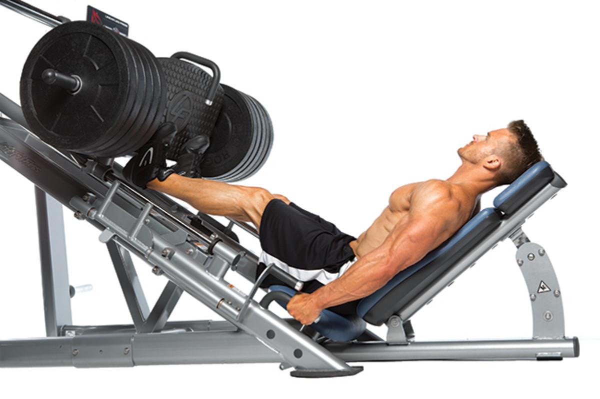 press fitness workout