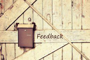 Acknowledge Customer Feedback
