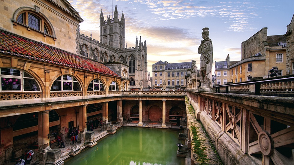 The Roman Baths and Georgian City of Bath