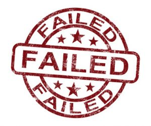 Failed Stamp Showing Reject Or Failure- Stanislav Komsky