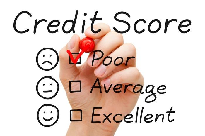 credit score low