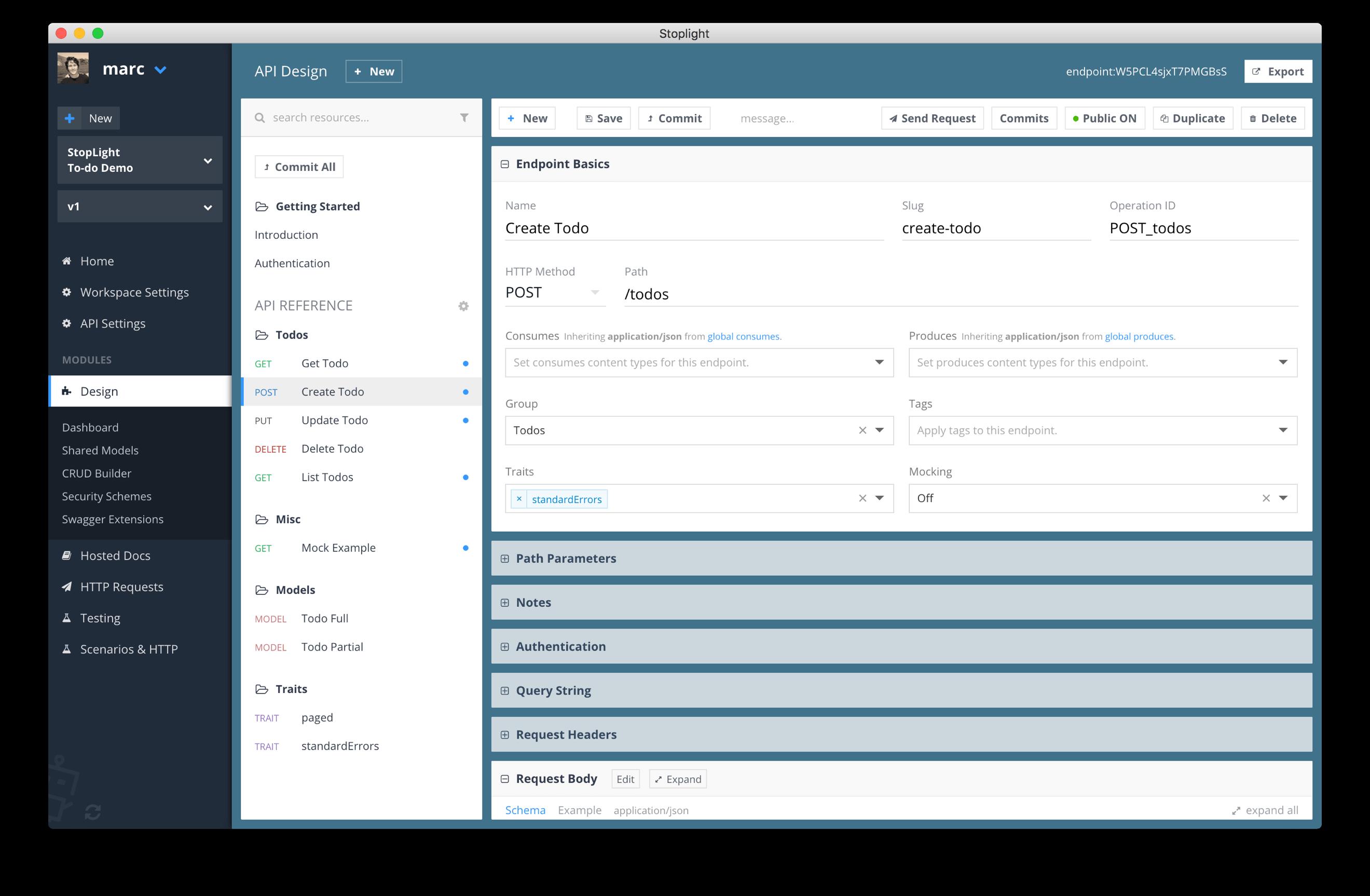 Database Schema Design