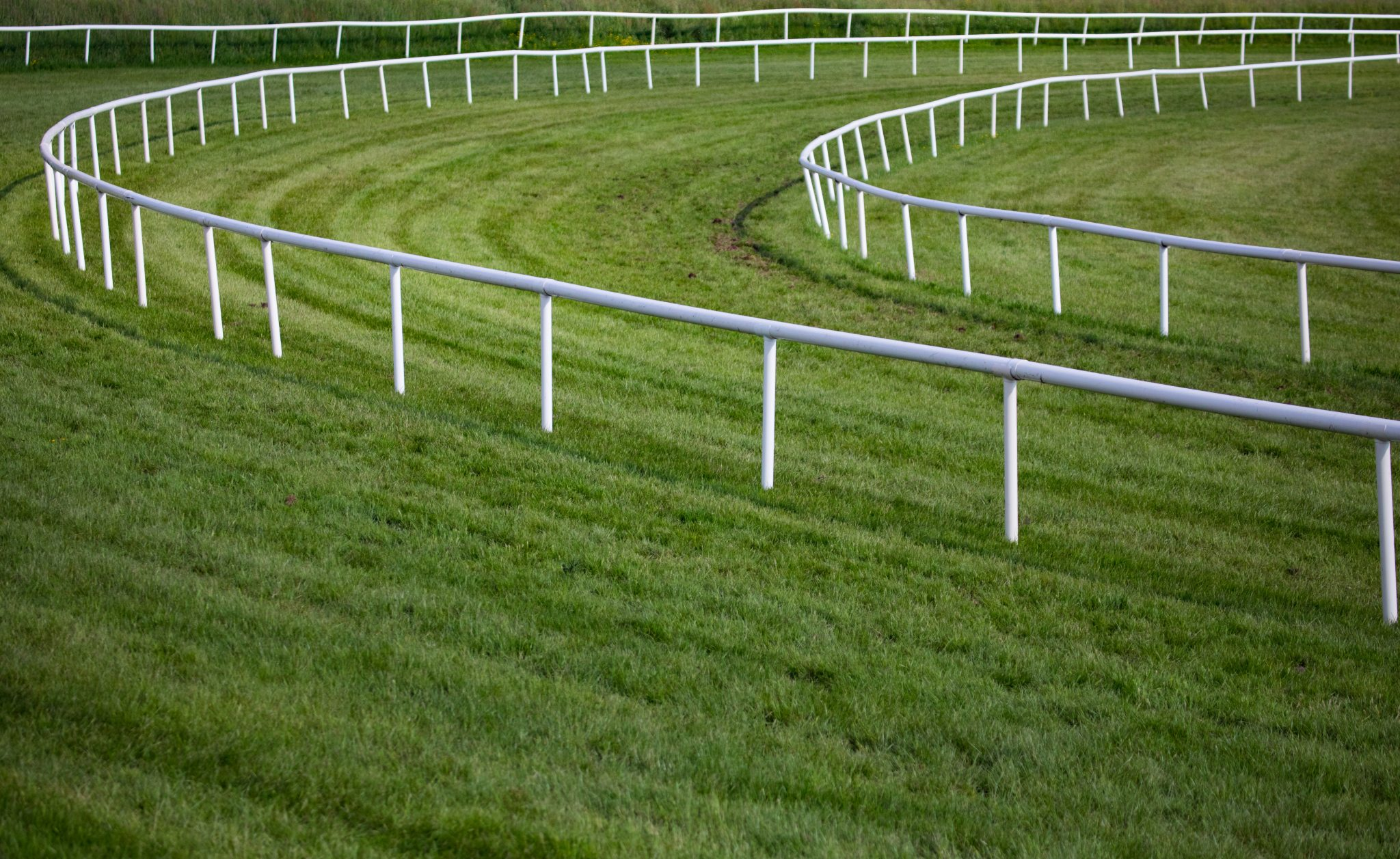Horse Race Rail Tracks