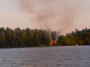 Whena fireoccurredonLangmaid's island