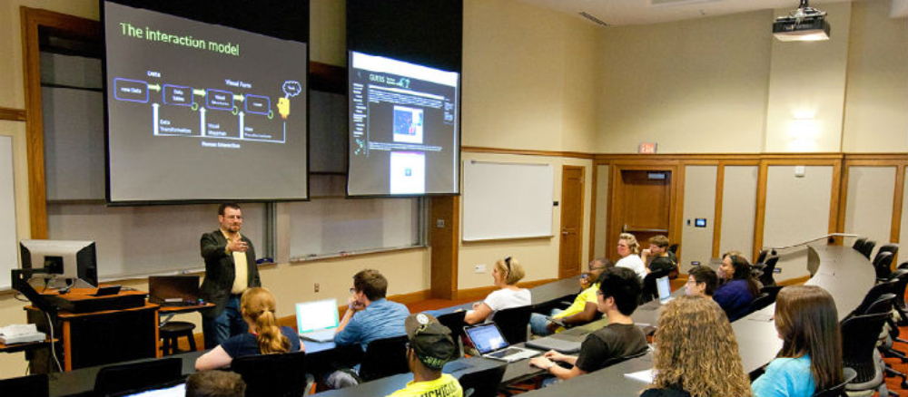 Smart Classrooms portable projection screen