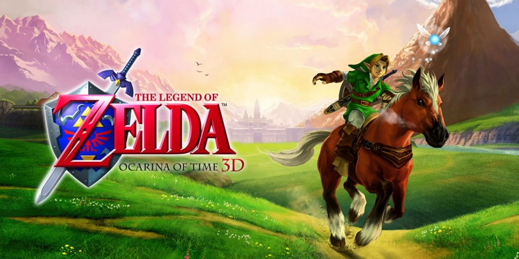 THE LEGEND OF ZELDA- OCARINA OF TIME 3D - mike matei