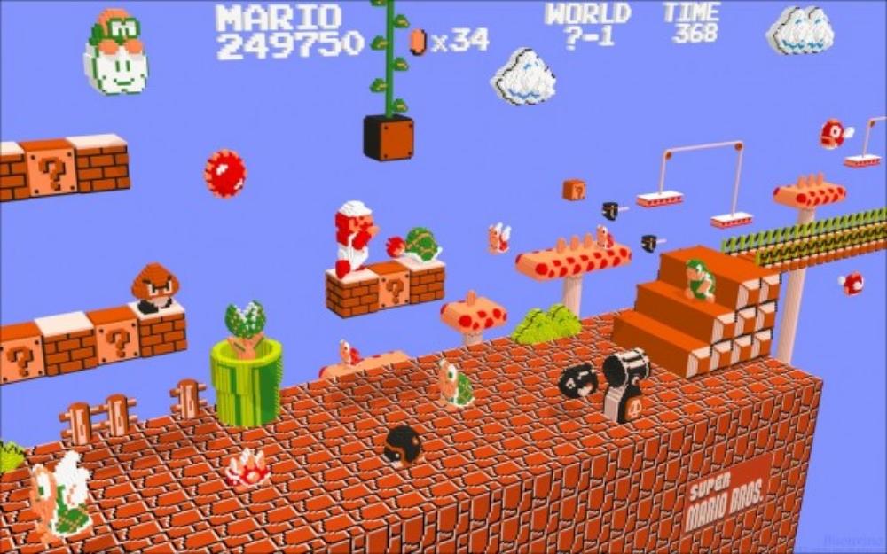 classic retro games - mike matei