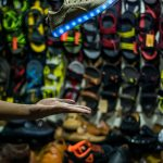 light grey shoelaces