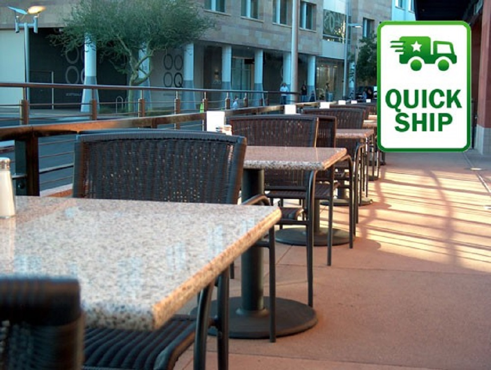 Outdoor Restaurant Furniture Layout