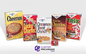 boxes for cereals