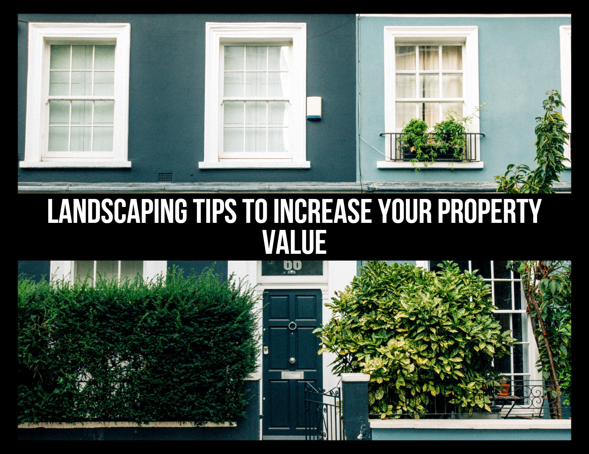 Landscaping Tips to Increase your Property Value
