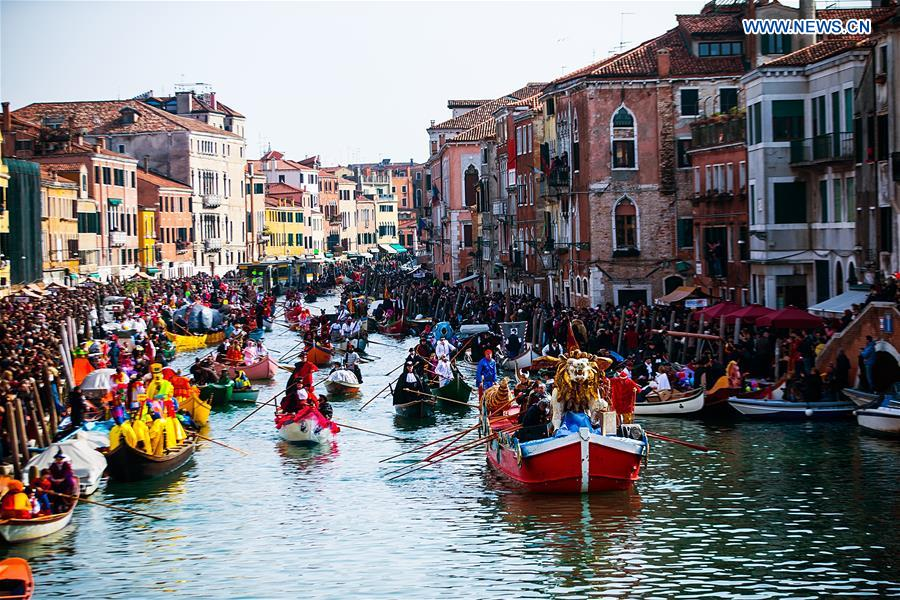 The Carnival Of Venice in Italy