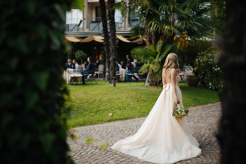 wedding dress for tall brides