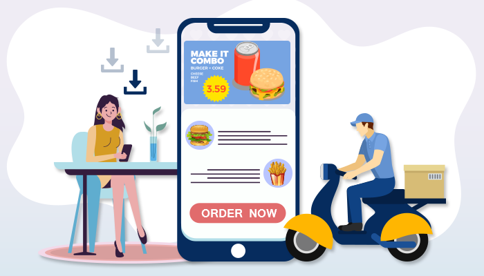 UI/UX is responsible in download counts of food delivery app