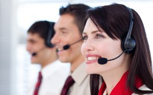Outsourced call center