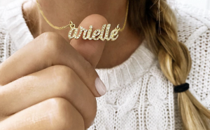 Buy Personalized Script Name Necklace