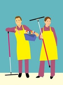 ABM janitorial company
