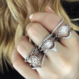 Shop Tiara Diamond Rings Online