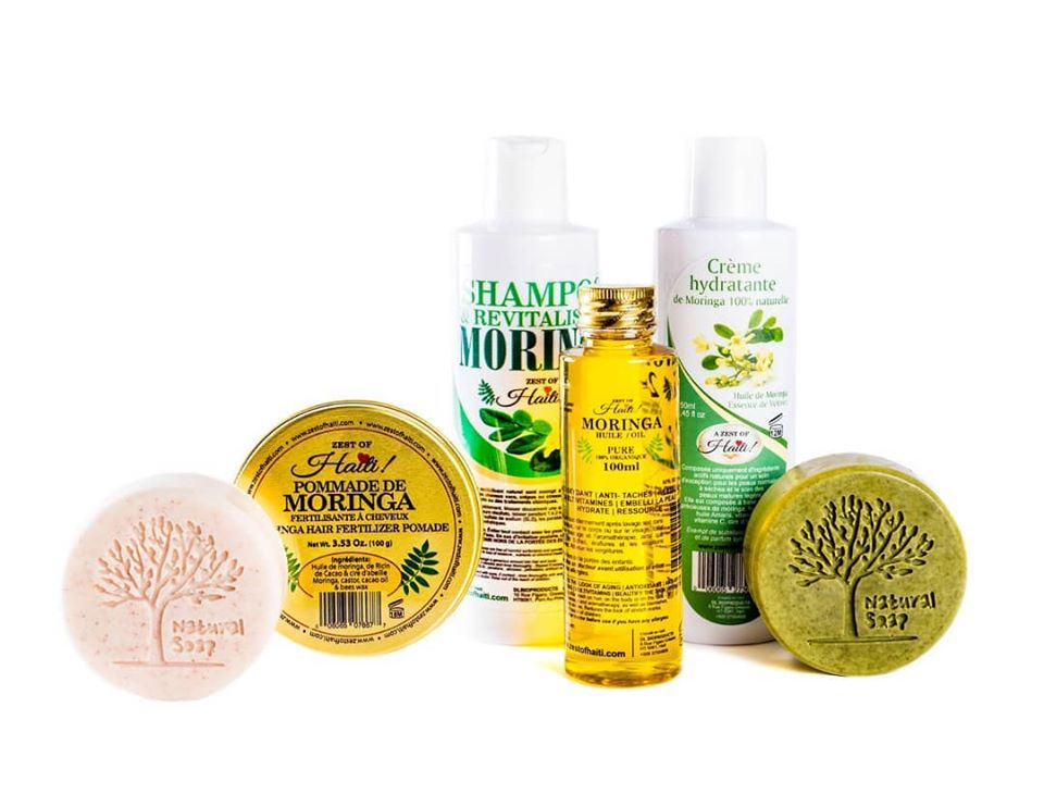 moringa oil hair care