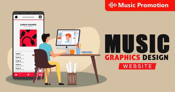 Music Graphics Design Website