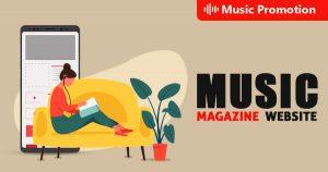 Music Magazine Website