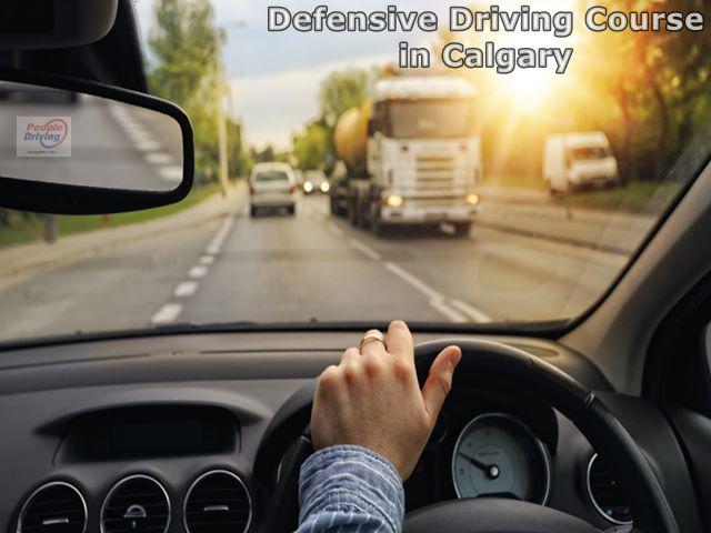 Defensive Driving Course in Calgary, peopledriving